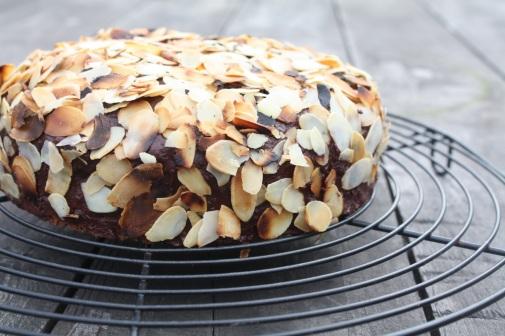 Schokoladen-Mandeln-Kuchen