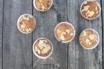 Muffins mit Rhabarber-Kompott MINI