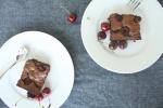 Kirschen-Brownies MINI