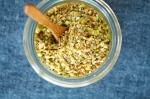 Grüner Spargel mit Pistazien-Dukkah MINI