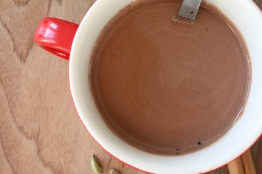 Heisse Schokolade mit Nussmilch III