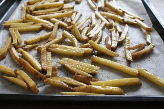 Kreuzkümmel-Pommes-Frites III
