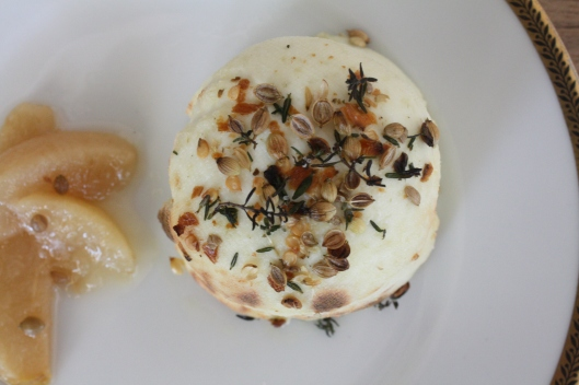 """Kochbuch """"Home made. Winter"""" - Brousse-Käse mit eingelegten Birnen IV"""