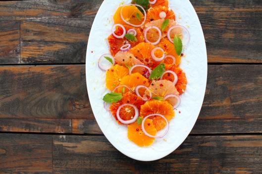 Zitrussalat mit rosa Pfeffer I