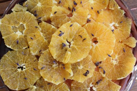 Lemon Curd Ricotta Kuchen Mit Orangen Und Lavendel Loffelchen Voll