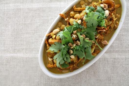 Curry mit Pfifferlingen I