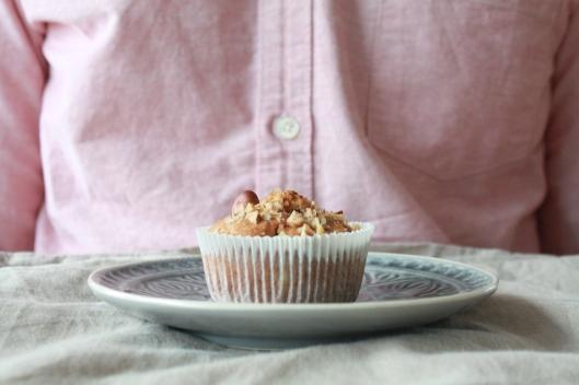 Haselnuss-Birnen-Muffins I