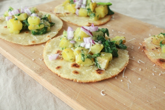 Kartoffel-Tacos mit selbstgerechten Tortillas I