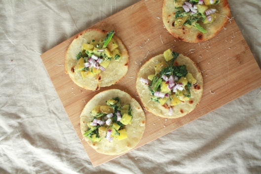 Kartoffel-Tacos mit selbstgerechten Tortillas III