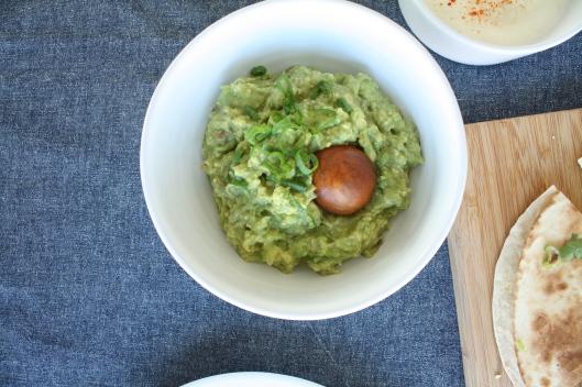 Kürbis-Chorizo-Quesedillas mit Guacamole III