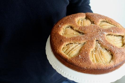 Birnenkuchen mit Nüssen I