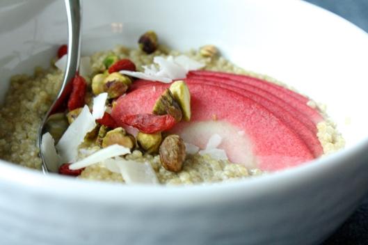 Kokos-Quinoa-Porridge IV