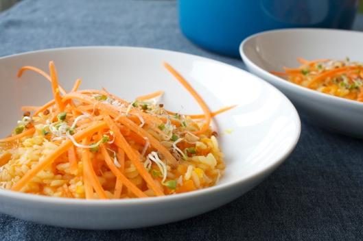 Karotten-Risotto