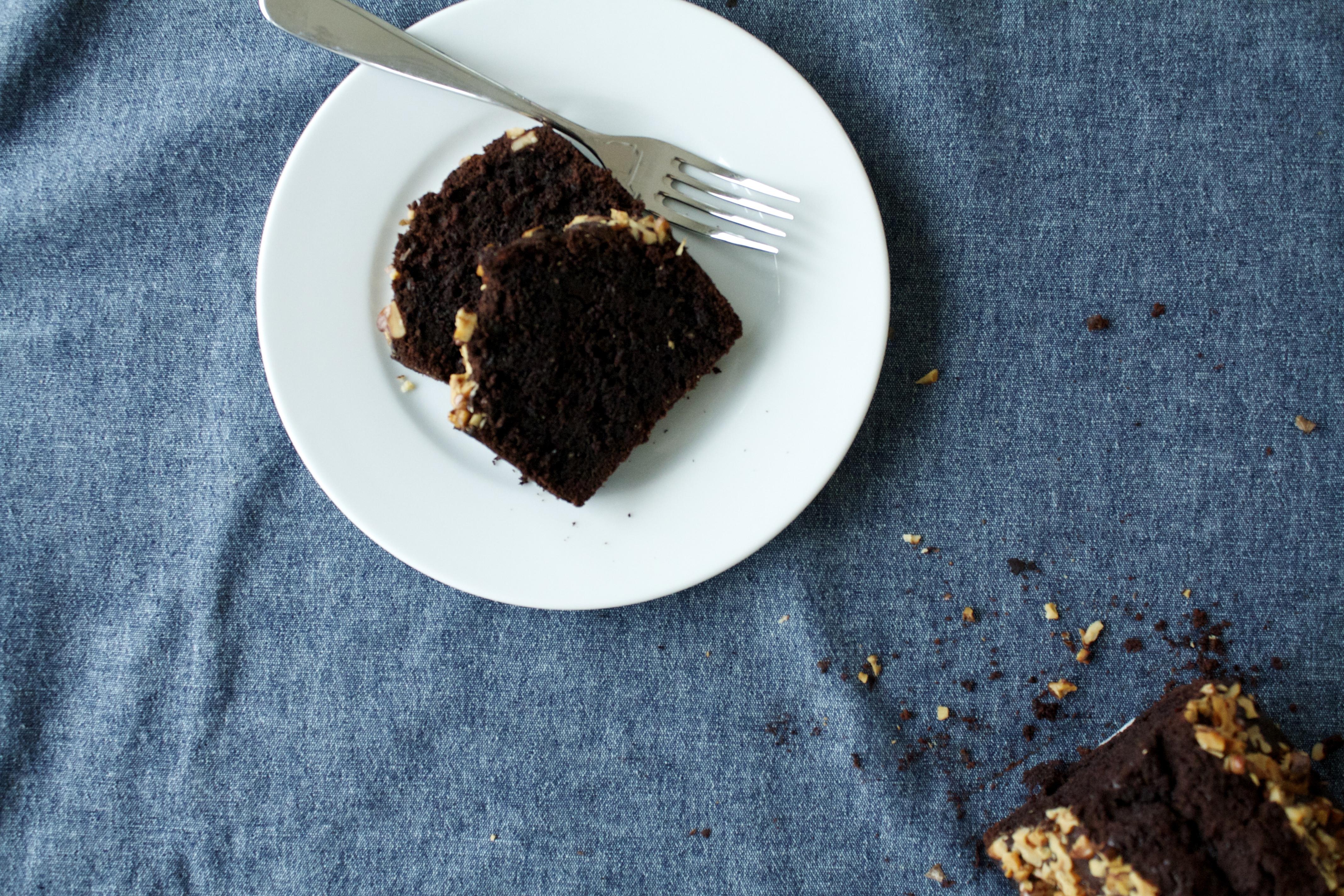 schokoladenkuchen mit baumn ssen l ffelchen voll zucker. Black Bedroom Furniture Sets. Home Design Ideas